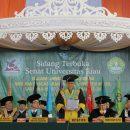 Universitas Riau Kukuhkan 3.949 Orang Wisudawan