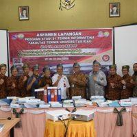Program Studi Teknik Informatika Universitas Riau Raih Akreditasi B
