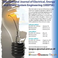 Call for Papers International Journal of Electrical, Energy and Power System Engineering (IJEEPSE)