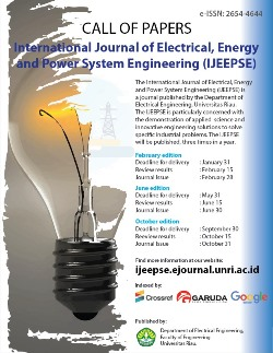 International Journal of Electrical, Energy and Power System Engineering (IJEEPSE)