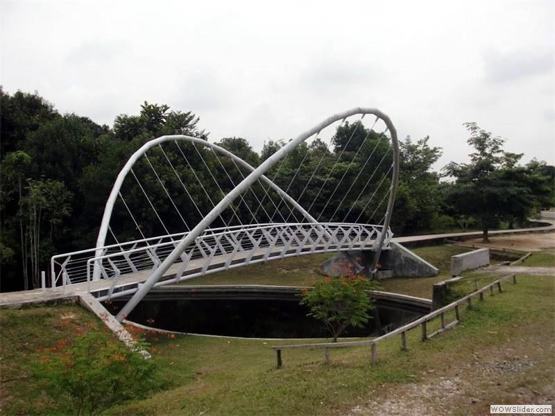 Jembatan Kupu-Kupu Universitas Riau
