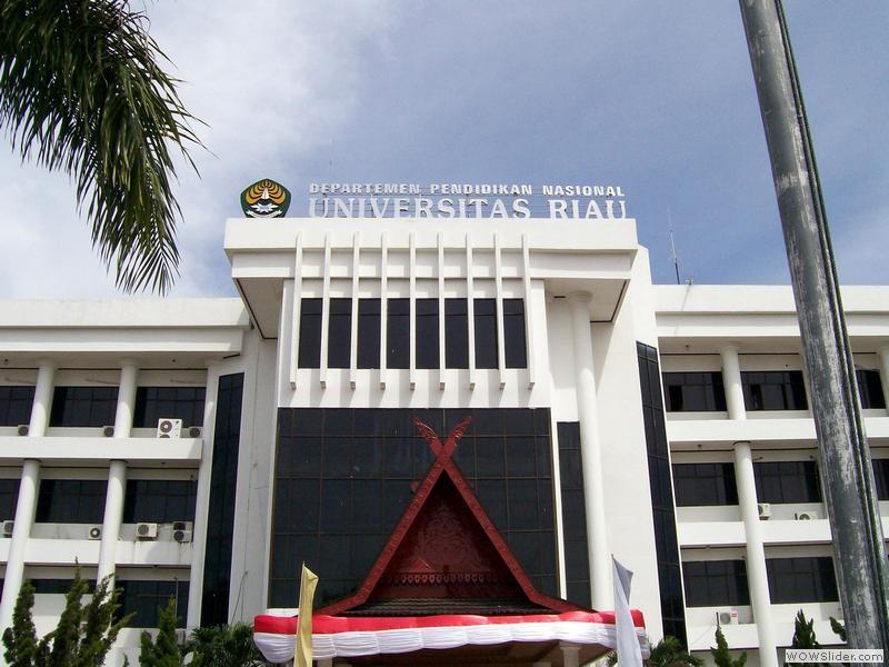 Gedung Rektorat Universitas Riau